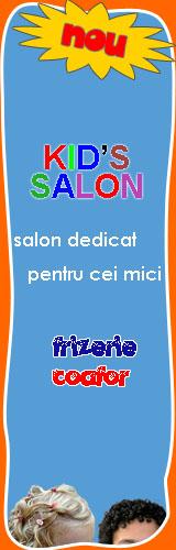 frizerie, coafor salon Kids Dream
