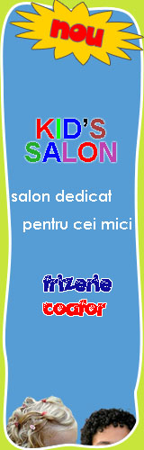frizerie, coafor salon Kids Dream